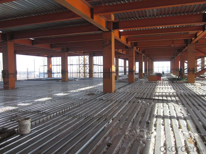 HEAVY STEEL STRUCTURE BUILDING AND PROJECT --YD 003