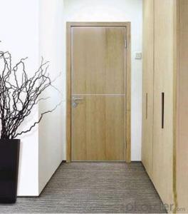 Aluminium -wood clad tilted aluminium door