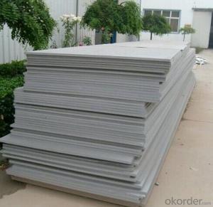 non asbestos free fiber cement board in china