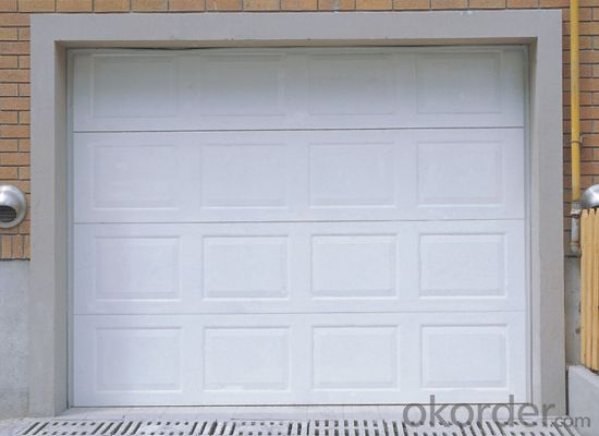 Automatic Rolling  Sectional Garage Door  for Cheap