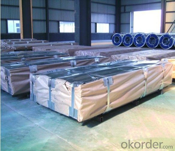 Hot Dipped Galvanized Steel Sheets Regular Spangle