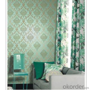 2014 latest deep embossed wallpaper for home decoration wallpaper