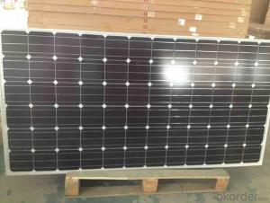 100W mono solar module for solar power plant