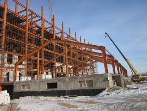 HEAVY STEEL STRUCTURE BUILDING AND PROJECT --YD 001