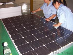 150W High-efficiency Polysilicon silicon solar module
