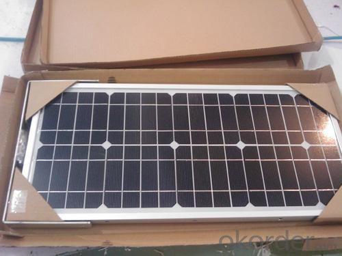 200w Monocrystalline silicon solar module with CE ,TUV,UL