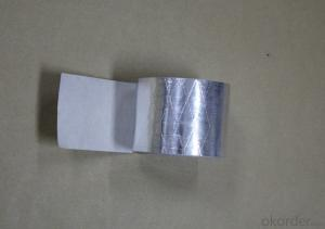 aluminum foil tapes without liner HVAC system flexible ducts FSK reinforced tape