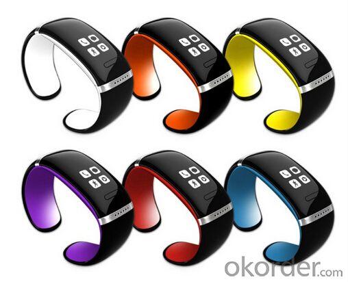 WiFi Bluetooth Smart Watch Bracelet Wristwatch for Smart Phones Waterproof