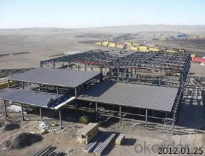 HEAVY STEEL STRUCTURE PROJECT AND BUILDING---PYCG--018
