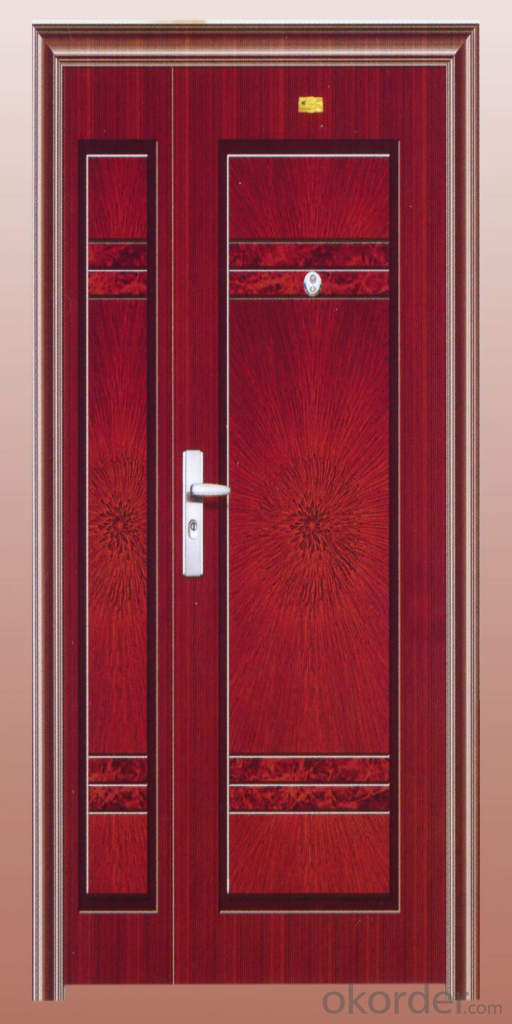 Interior Veneer Design Doors  made in PVC