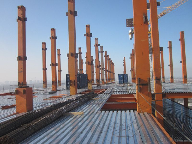 HEAVY STEEL STRUCTURE BUILDING AND PROJECT --YD 020