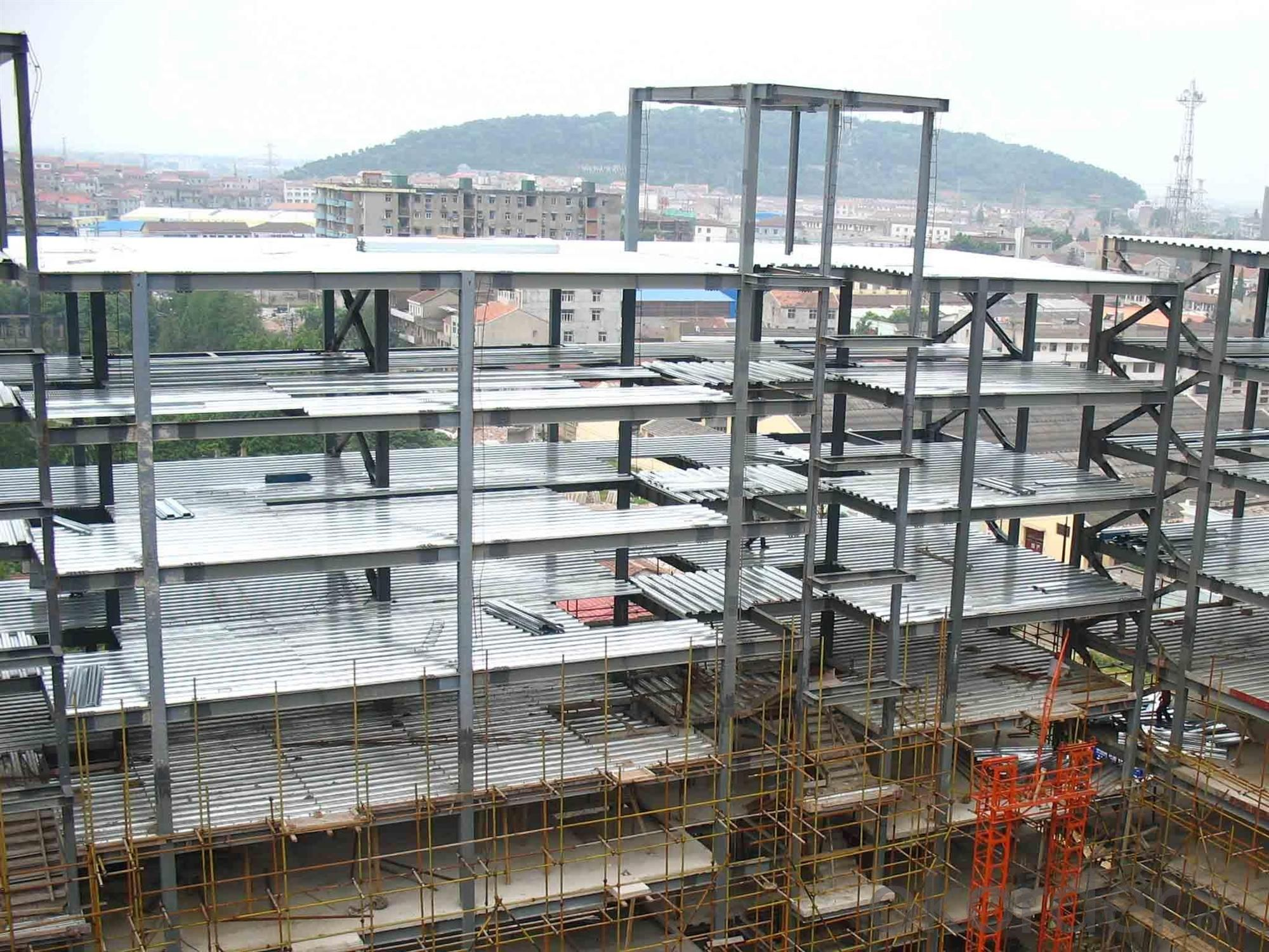 HEAVY STEEL STRUCTURE BUILDING AND PROJECT --YD 013