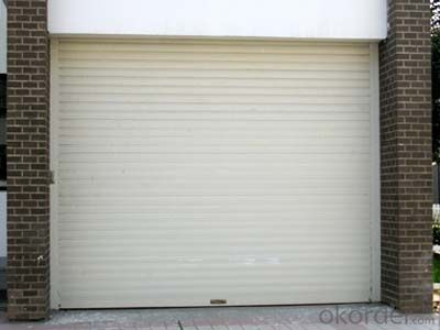 Automatic Rolling  Garage Door for  New  Fashion Design