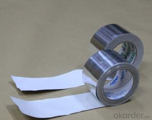 aluminum foil tapes plain tapes HVAC system insulation flexible ducts