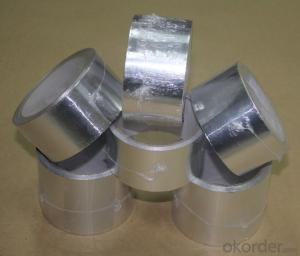 aluminum foil tapes HVAC system FSK reinforced tapes flexible ducts