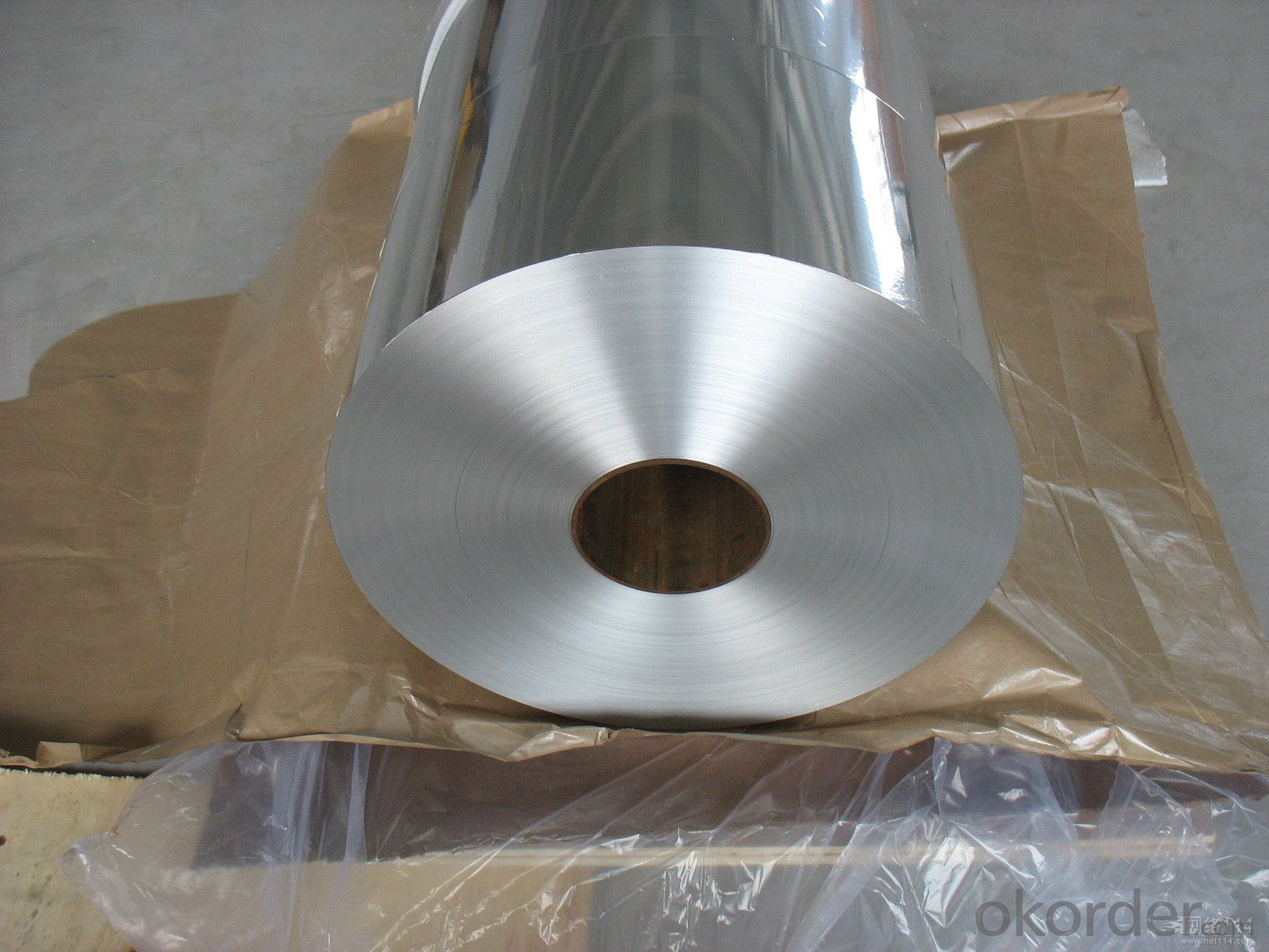 Packing and Lamination Film-12mic Aluminum Foil/15mic Polyethylene