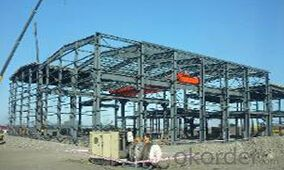 HEAVY STEEL STRUCTURE PROJECT AND BUILDING---PYCG--019