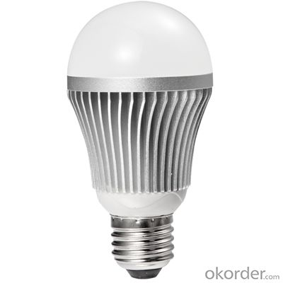 LED bulb light CRI80, 60W incandescent replacement, ULstandard