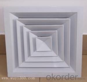 alum ceiling square diffusers