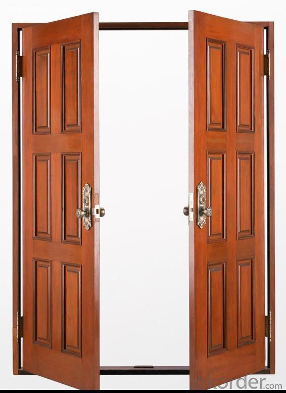 interior cold roll steel solid wooden door