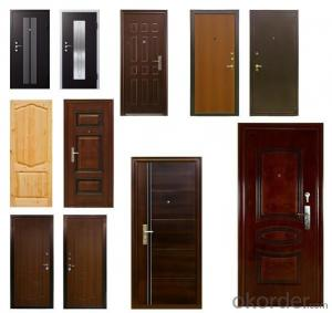 European Quality Standard MDF Interior Wooden Door