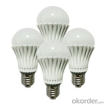 Waterproof LED bulb light 60W incandescent replacement, UL