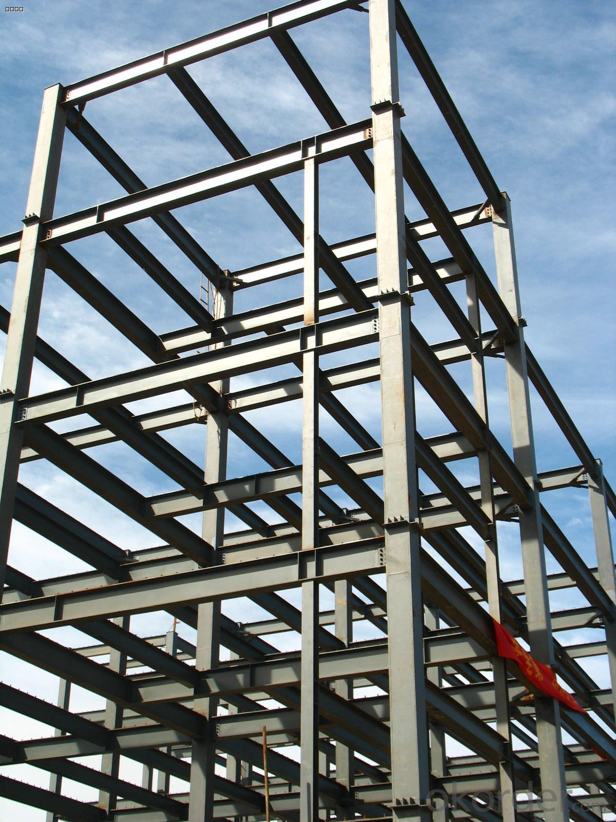HEAVY STEEL STRUCTURE BUILDING AND PROJECT --HC- 010