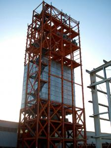 HEAVY STEEL STRUCTURE BUILDING AND PROJECT --YD 012