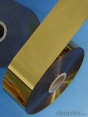 Mylar Lamination Film- 60mm Width Metalized PET/Polyethylene