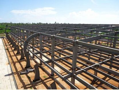 HEAVY STEEL STRUCTURE PROJECT AND BUILDING---PYCG--012