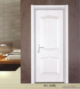 Interior PVC Door With Aluminum Decoration(GM -A02)