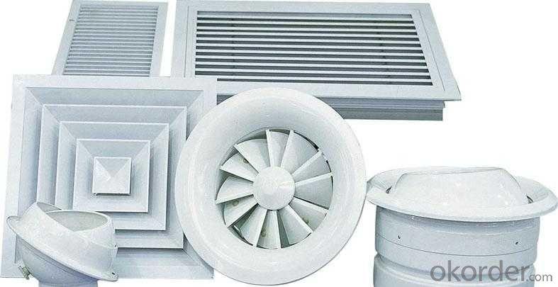 square air diffuser round diffuser manufacturer