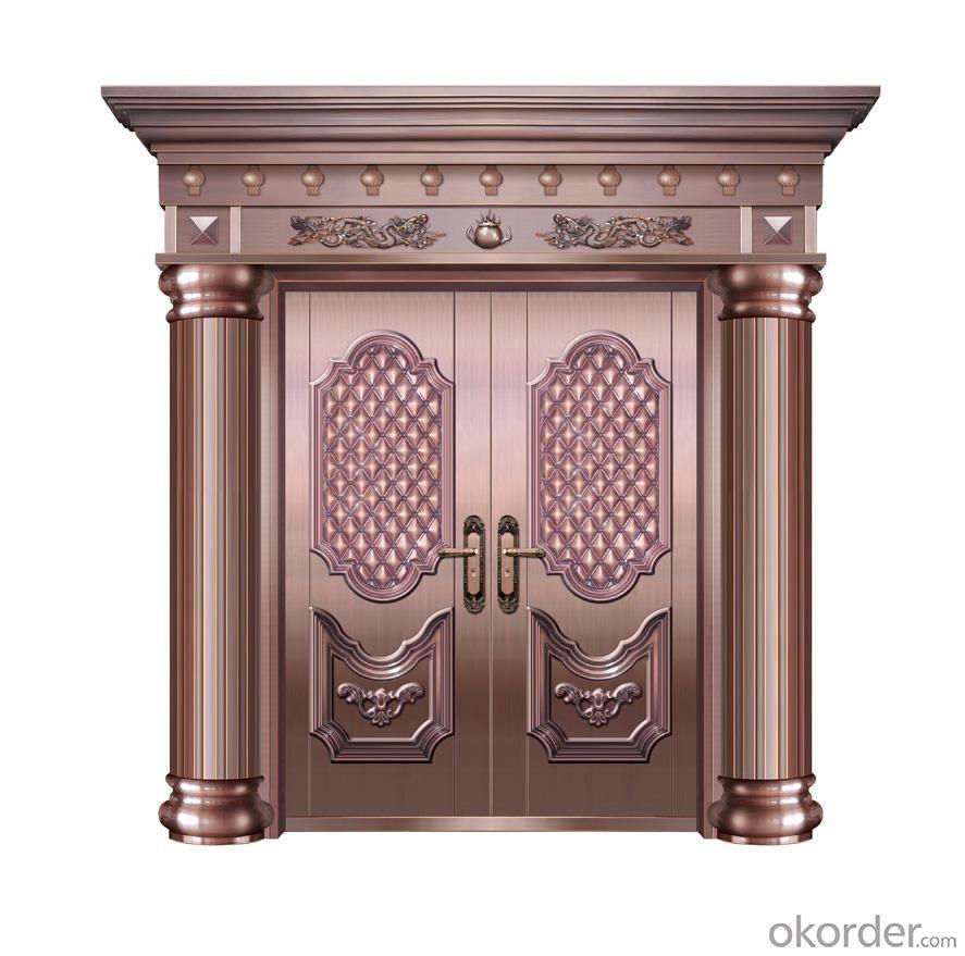 6-panel Prehung Inswing Steel Exterior Door