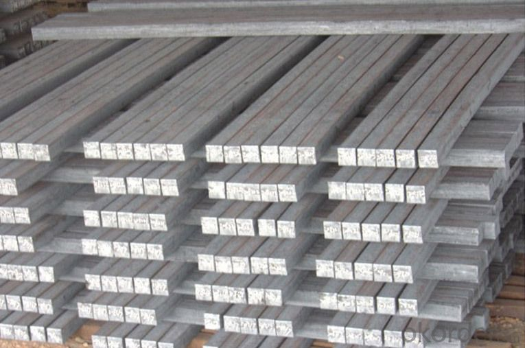 Steel Square Billet Bar For Rebar Production