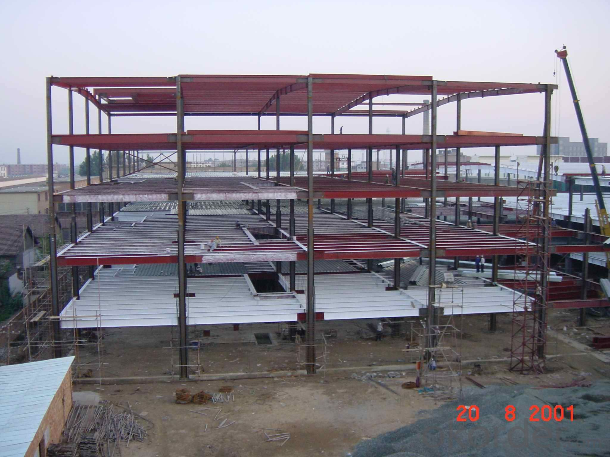HEAVY STEEL STRUCTURE BUILDING AND PROJECT --YD 007