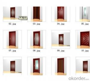 Favorite MDF Door Bedroom Door Flush Doos Prices