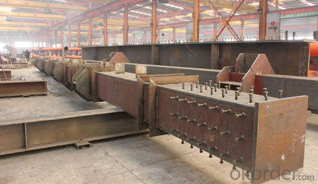 HEAVY STEEL STRUCTURE BUILDING AND PROJECT --YD 019