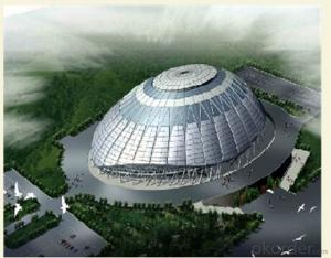 HEAVY STEEL STRUCTURE BUILDING AND PROJECT --HC- 006