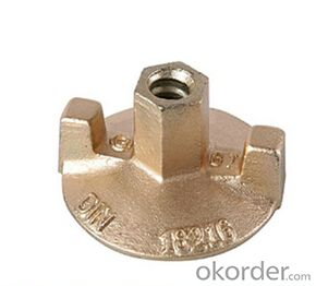 Precision brass sand casting parts for building