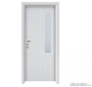 Fire Proof Steel Door with push bar CS-P668