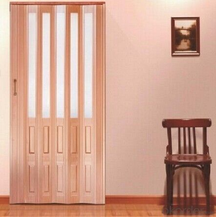 best price pvc interior wooden door  in china