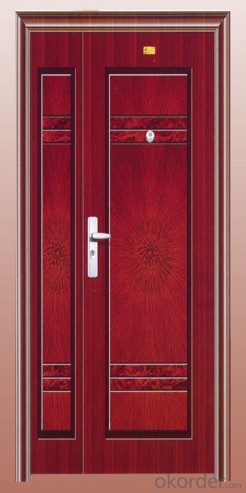 DOUBLE color popular Russia steel door (lt-313) new model