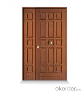 Unique design high quality anti rust oem steel security door