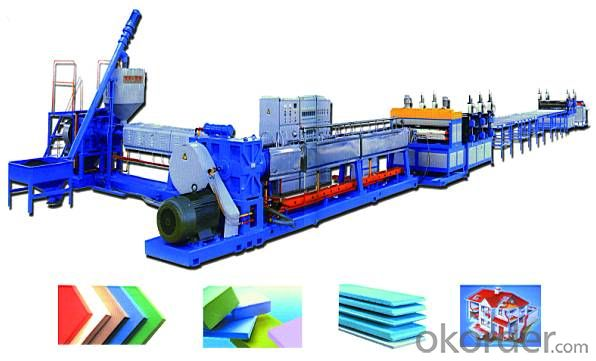 XPS Extruding foam sheets production line