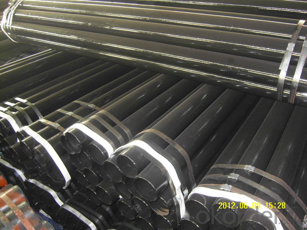 Carbon seamless steel pipe A106Gr.B with high quality