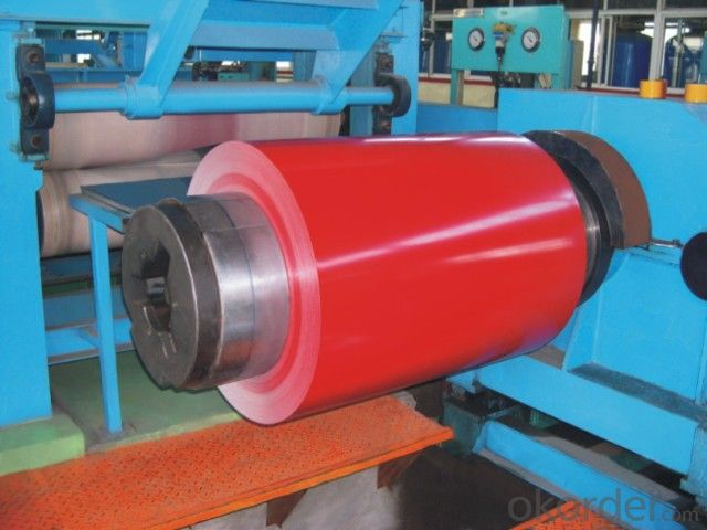 Prepainted gavalume steel coil and sheet