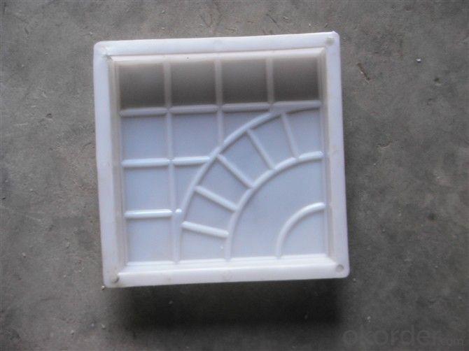 Hot selling concrete brick pavers paving mould kerb stones plastic molds