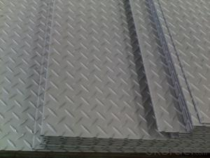 304 2B diamond plate sheets stainless steel