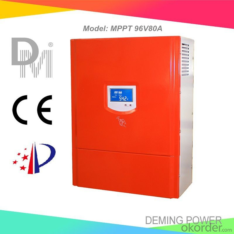 MPPT Solar Charge Controller 96V 80A with best price for solar power system