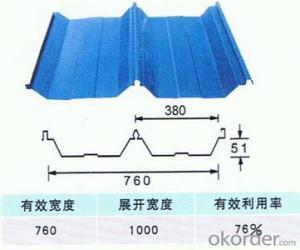 ZHONGGUO SHANDONG BOXING ZHONG TAI CORRIGATED SHEET